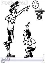 Imprimer le dessin en couleurs : Basketball, numéro 464644