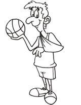 Imprimer le dessin en couleurs : Basketball, numéro 464645