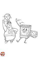 Imprimer le dessin en couleurs : Basketball, numéro 464646