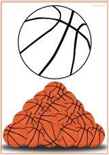 Imprimer le dessin en couleurs : Basketball, numéro 464656