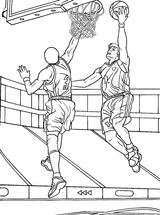 Imprimer le coloriage : Basketball, numéro 487892