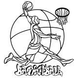 Imprimer le coloriage : Basketball, numéro 4e050c82