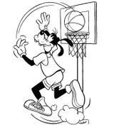 Imprimer le coloriage : Basketball, numéro 501366