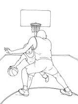 Imprimer le coloriage : Basketball, numéro 590314
