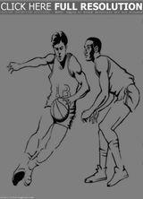 Imprimer le coloriage : Basketball, numéro 687277