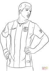 Imprimer le coloriage : Football, numéro 168958ff