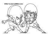 Imprimer le coloriage : Football, numéro 2e6a2347