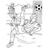 Imprimer le coloriage : Football, numéro 459833