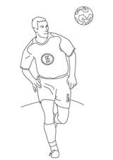 Imprimer le dessin en couleurs : Football, numéro 464603