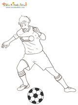 Imprimer le dessin en couleurs : Football, numéro 477824