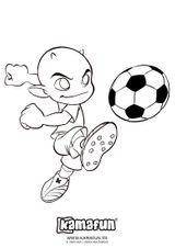 Imprimer le dessin en couleurs : Football, numéro 498891