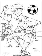 Imprimer le coloriage : Football, numéro 517425
