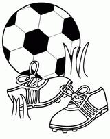 Imprimer le coloriage : Football, numéro 553057