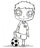 Imprimer le dessin en couleurs : Football, numéro 593257