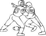 Imprimer le dessin en couleurs : Football, numéro 689706