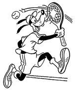Imprimer le coloriage : Tennis, numéro 361a29b6
