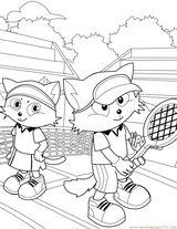 Imprimer le coloriage : Tennis, numéro 3c2cd8a8