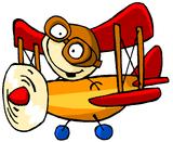 Imprimer le dessin en couleurs : Avion, numéro 117705