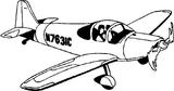 Imprimer le coloriage : Avion, numéro 128747