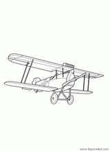 Imprimer le coloriage : Avion, numéro 128751