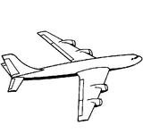 Imprimer le coloriage : Avion, numéro 146130