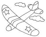 Imprimer le coloriage : Avion, numéro 3576