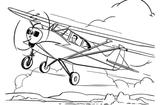 Imprimer le coloriage : Avion, numéro 5348