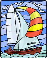 Imprimer le dessin en couleurs : Bateau, numéro 118735