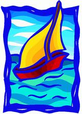 Imprimer le dessin en couleurs : Bateau, numéro 12263