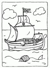 Imprimer le coloriage : Bateau, numéro 129698