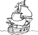 Imprimer le coloriage : Bateau, numéro 146718
