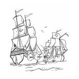 Imprimer le coloriage : Bateau, numéro 14908