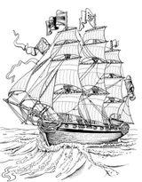 Imprimer le coloriage : Bateau, numéro 17708
