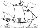 Imprimer le coloriage : Bateau, numéro 1816