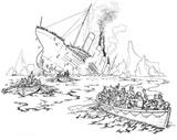 Imprimer le coloriage : Bateau, numéro 1834