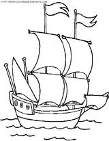 Imprimer le coloriage : Bateau, numéro 1840