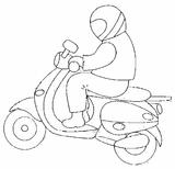 Imprimer le coloriage : Moto, numéro 113495