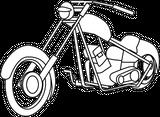Imprimer le coloriage : Moto, numéro 145978