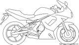 Imprimer le coloriage : Moto, numéro 18160