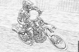Imprimer le coloriage : Moto, numéro 53632