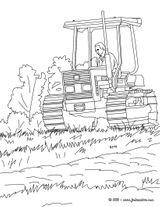 Imprimer le coloriage : Tracteur, numéro 128663