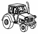 Imprimer le coloriage : Tracteur, numéro 161100