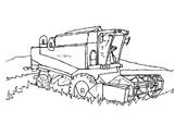 Imprimer le coloriage : Tracteur, numéro 3698