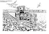 Imprimer le coloriage : Tracteur, numéro 5804