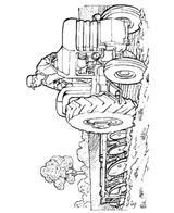 Imprimer le coloriage : Tracteur, numéro 7354