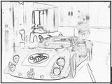 Imprimer le coloriage : Alfa Romeo, numéro 105423