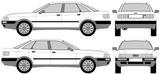 Imprimer le coloriage : Audi, numéro 105507