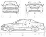 Imprimer le coloriage : Audi, numéro 105509
