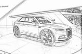 Imprimer le coloriage : Audi, numéro 105511