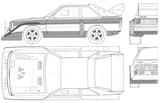 Imprimer le coloriage : Audi, numéro 105514